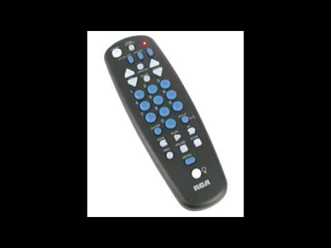 RCA UNIVERSAL REPLACEMENT REMOTE FOR MAGNAVOX, GE, ZENITH, APEX DIGITAL CONVERTER BOXES AND MORE.