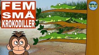 Fem små krokodiller - og mye mer   Norske barnesanger