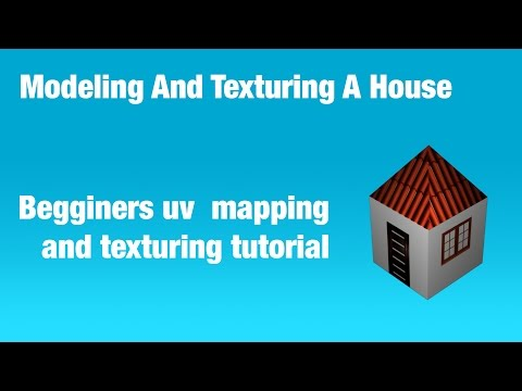 Maya Modeling And Texturing A House