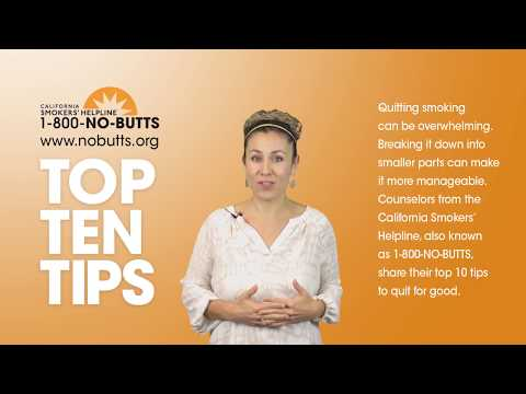 Top 10 Tips to Help You Quit Smoking
