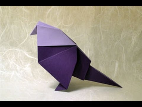Origami Bird Instructions: www.Origami-Fun.com