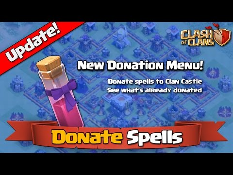 Clash of Clans - Donate Spells [Town Hall 11 Update]