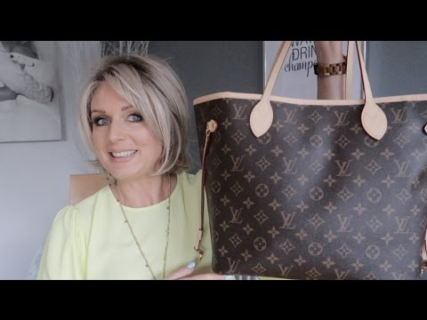 What's In My Bag - Louis Vuitton Neverfull MM (Spring 2017)