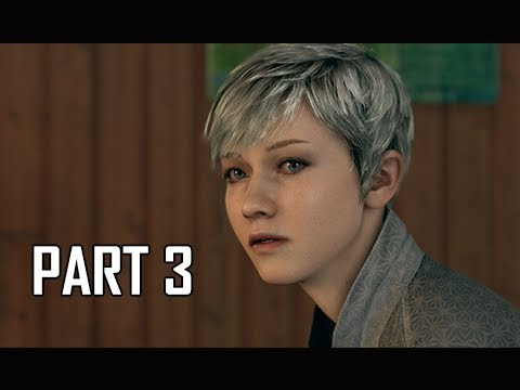 DETROIT BECOME HUMAN Gameplay Walkthrough Part 3 - Disguise (PS4 Pro 4K Let's Play)
