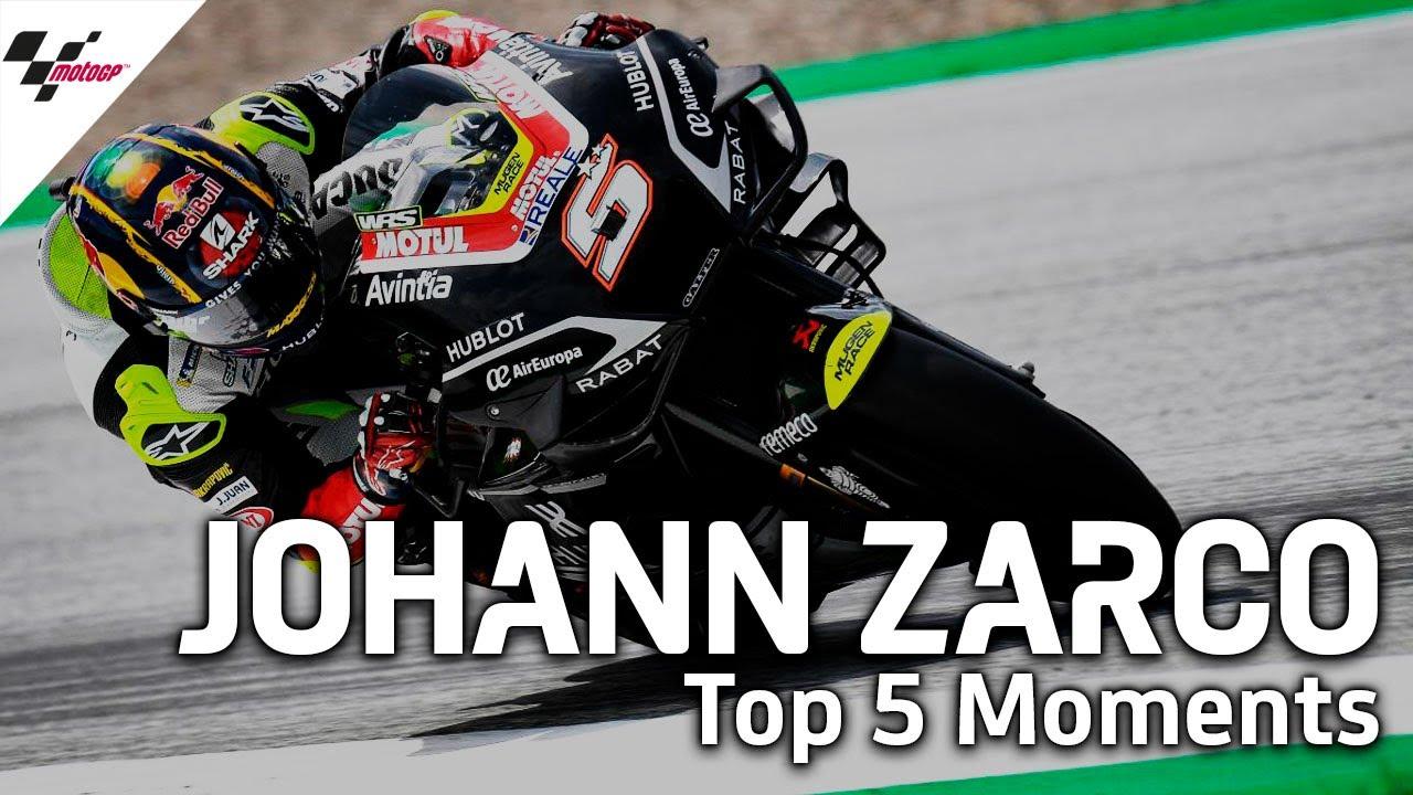 Johann Zarco's Top 5 Premier Class Moments