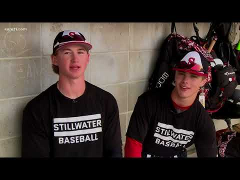 Dynamic duo leads the way for Stillwater HS baseball team