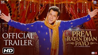 Prem Ratan Dhan Payo Trailer, Dialogue Promos & Song Promos