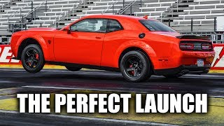 How The Dodge Demon Launches: Transbrake + Torque Reserve Explained