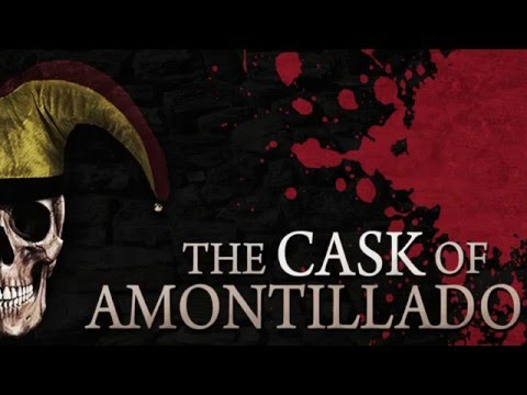 THE CASK OF AMONTILLADO Edgar Allan Poe | Classic Scary Horror Stories | Performed by Barry Bowman