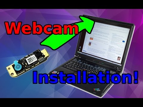 Installing/Replacing/Repairing a Webcam on a ThinkPad!
