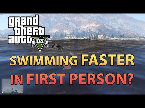 GTA 5: Is swimming in First Person faster?