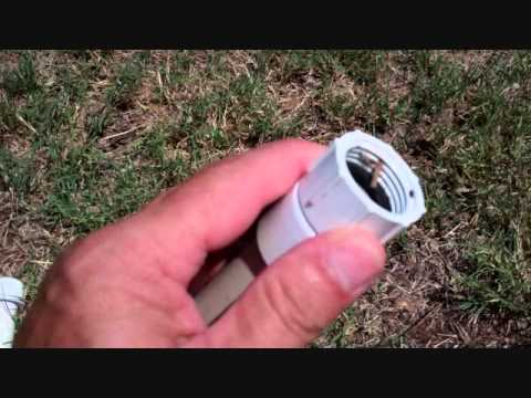 Build a cheap, simple, rugged sprinkler