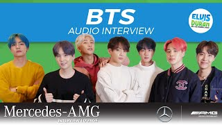 BTS Talks Close Friendship with Shawn Mendes: AUDIO INTERVIEW | Elvis Duran Show