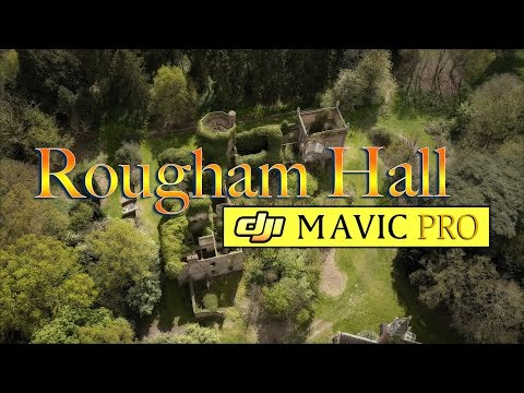 DJI Mavic Pro Drone Urbex - Rougham Hall - by im-AGE