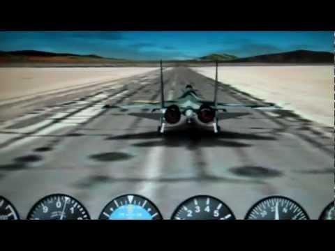 GE flight simulator: Take off