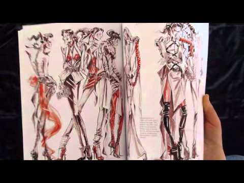 Anna Kiper Fashion Illustration Book - How to illustrate fashion