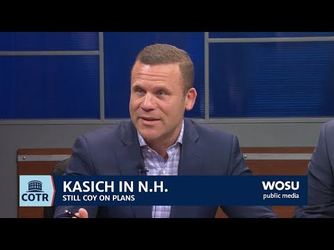 Kasich Goes Back To New Hampshire