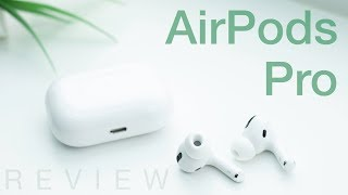 Apple AirPods Pro Review (vs Sony WF-1000XM3)