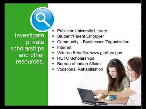 Financial Aid Overview: Applying for Financial Aid
