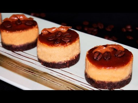 Caramel Mini Cheesecakes Recipe - Cheesecake Cupcakes ♥ Tasty Cooking