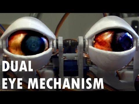DIY Animatronic Eye Project Update