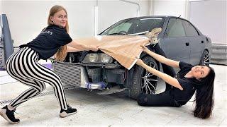 Девчонки НАТЯНУЛИ Toyota Chaser