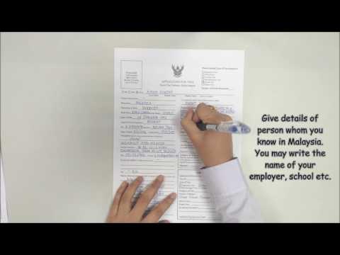 How to apply Thai visa in Kuala Lumpur