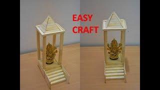 Ice Cream Stick Craft Temple Videos 9tube Tv