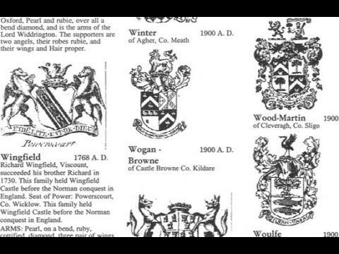 Wogan family name; Co. Kildare, Carlow, Wicklow book; Jack O Lantern; Palins Sheeran roots IF88