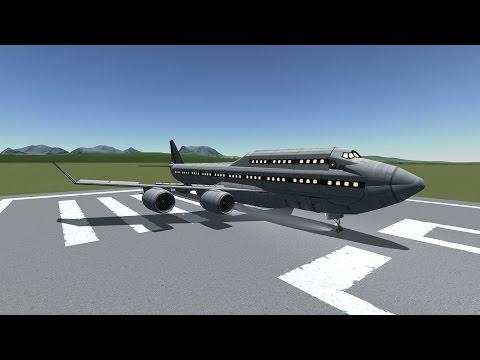 100% STOCK Boeing 747 Speed build in KSP