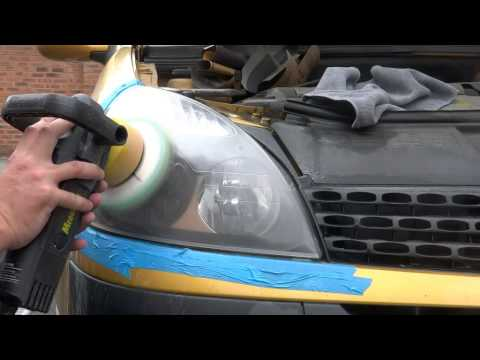 Project Turd headlight restoration 2001 Renault Clio 1.4i 16v
