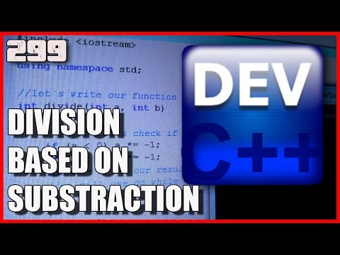 C++ Division based on substraction