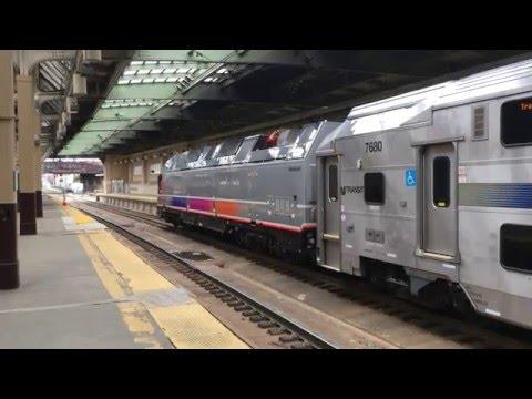 New Jersey Transit Raritan Valley Line: Train 5517 to Raritan @ Newark-Penn Station