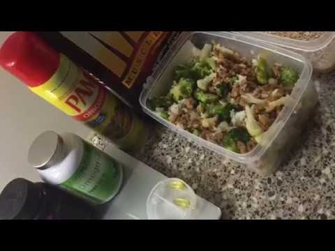 Healthy lunch meal prep Ideas for Bodybuilders/Athletes ( High Protein )