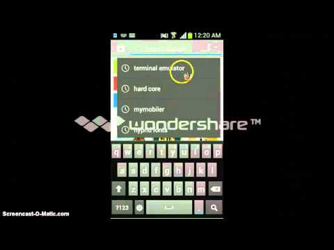 YTHDHACK:How to get a command prompt for android phone