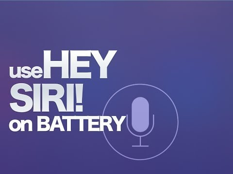 HOW TO: Use Siri Hands-Free Without Being Connected to Power