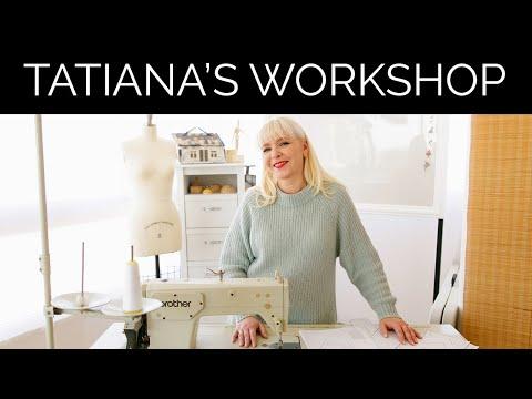 How to organize your sewing workshop? My sewing room. Tatiana Kozorovitsky studio
