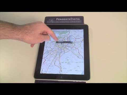 iPad Tutorial 17: utilizar Street View de Google Maps
