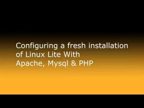 Installing Apache, Mysql and PHP in Linux Series Part 1