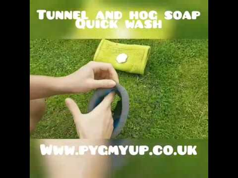 PygmyUp fleece accessories for hedgehogs natural soap