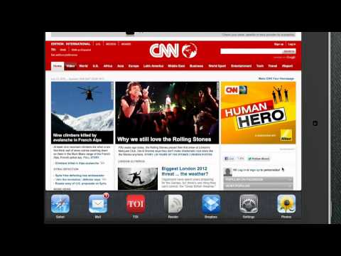 Switch between Safari and Google Chrome in iPad and iPhone