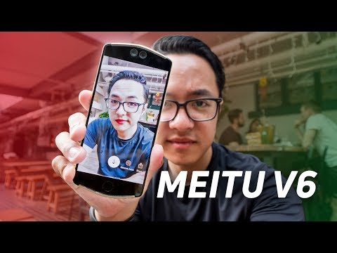 Meitu V6: The selfie phone you've never heard of