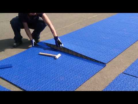Bergo Multisport court installation