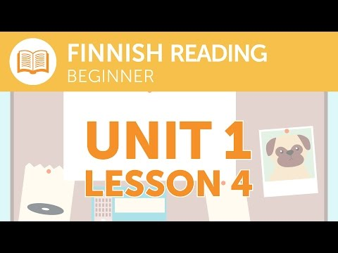 Finnish Reading for Beginners - Is the Express Service Running Today?