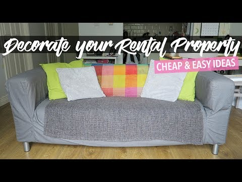 How to Decorate Your Rental Apartment | CHEAP & EASY IDEAS