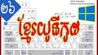 ➡ របៀបដោះស្រាយបញ្ហា Khmer Unicode Fonts