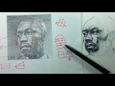 Ballpoint Pen Portrait Drawing Demo & Tips