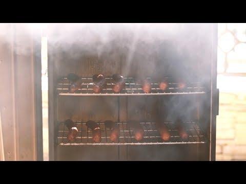 Smoking Turkey Sausage with Master Chef Tony Seta