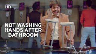 Rajpal Yadav avoids washing hands after bathroom | Salman Khan | Maine Pyaar Kyu Kiya | Comedy Film