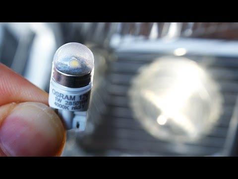 Review: Osram/Sylvania LEDriving W5W white 4000K LEDs